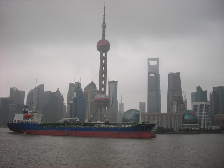 Panoramic View of Pudong