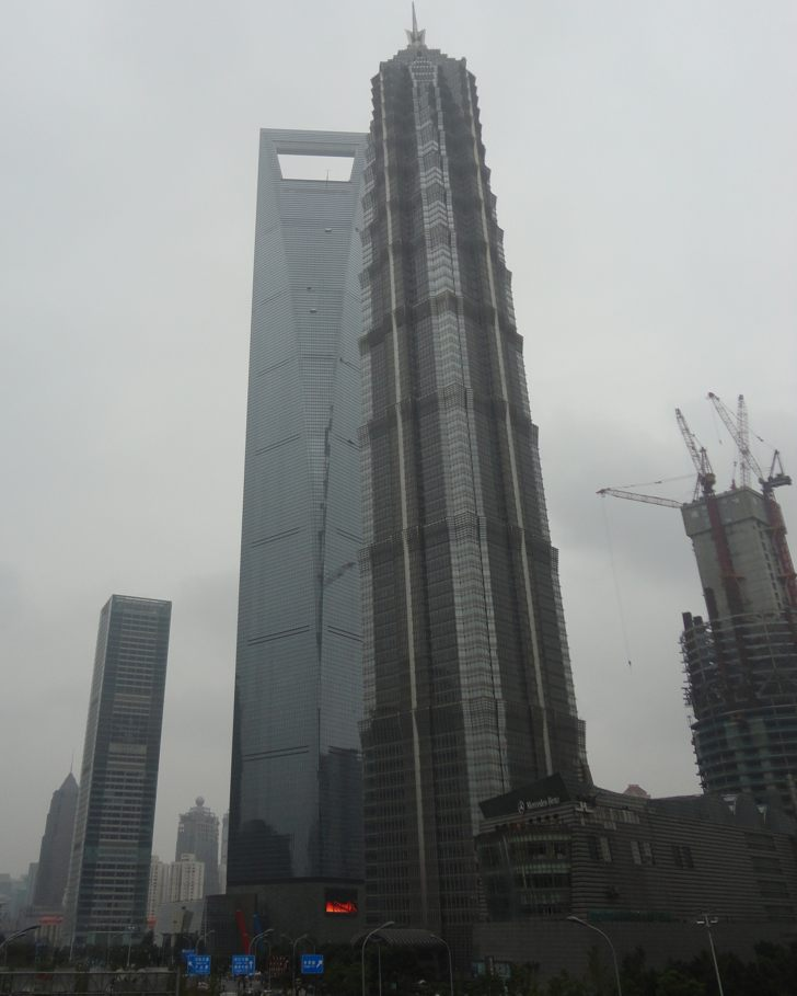 Shanghai World Financial Tower and Jin Mao Tower